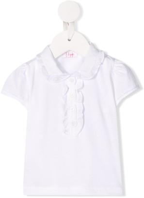 Il Gufo cotton ruffled collar T-shirt