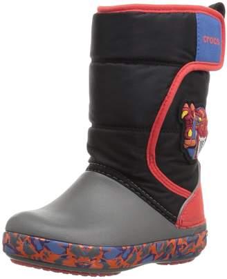Crocs Kid's CrocsLodgePt Lights RoboRex Snow Boots