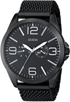 GUESS GUESS? Men's U0180G2 Stainless-Steel Quartz Watch with Dial
