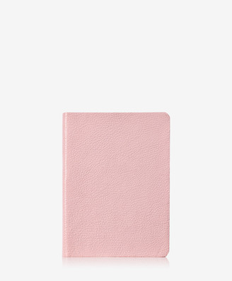 GiGi New York Medium Journal, Petal Pink Goatskin