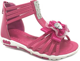 Fuchsia Sparkle Flower Angel Gladiator Sandal