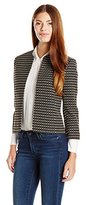 Anne Klein Women's Ribbon Tweed Jacket
