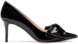 Kate Spade Strudel Patent Leather Bow Pumps