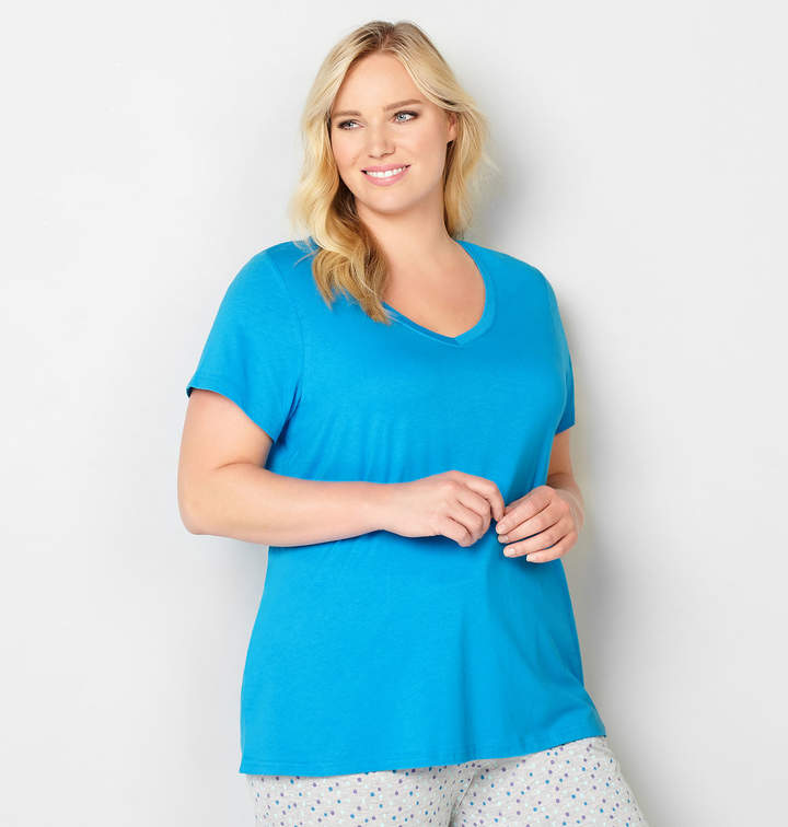 Blue Sleep Top