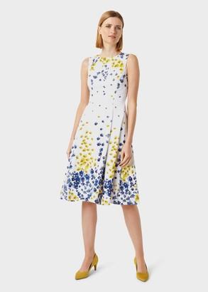 Hobbs Cleo Cotton Blend Floral Dress