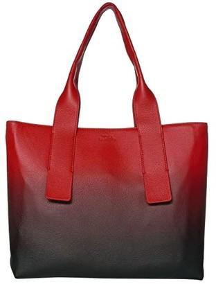 Vince Camuto Dee Tote (Natural/Black) Handbags