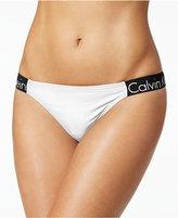 Calvin Klein Logo Cheeky Bikini Bottoms Women's Swimsuit