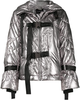 John Richmond Metallic Padded Jacket
