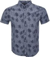 Superdry Ultimate Indigo Aloha Shirt Navy