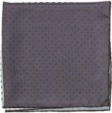 Lanvin Polka-dot colour-block silk pocket square