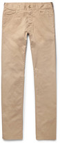 Canali Slim-fit Stretch-cotton Twill Chinos