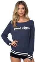 Spiritual Gangster Good Vibes Mini Heart Sweatshirt