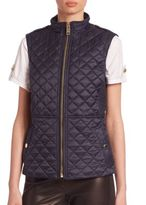 Burberry Tindaleq Quilted Vest