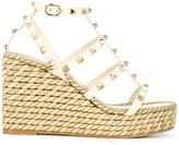 Valentino Garavani Rockstud wedge sandals