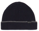 Burberry Shoes & Accessories Cashmere Ribbed-knit Beanie Hat