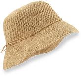 """Helen Kaminski Provence 8"""" Brim Raffia Hat, Natural"""
