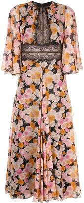 Giambattista Valli Long Floral Dress