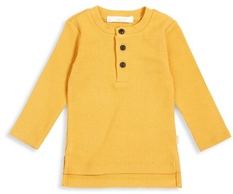 FIRSTS BY PETIT LEM Baby Boy's Cabs Long-Sleeve Henley Top