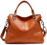 PASTE Women's Genuine Leather Hobo Tote purse satchel Handbag/Shoulder Strap