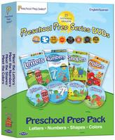 Preschool Prep Company Preschool Prep DVD 4-Pack