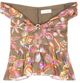 Peter Pilotto Printed cotton top
