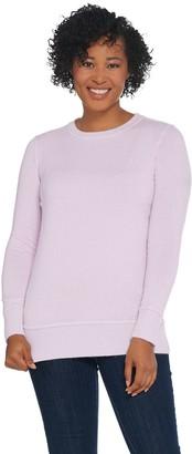 Martha Stewart Wool Cashmere Crew Neck Long Sleeve Sweater