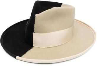 Nick Fouquet Sauvage color-block hat