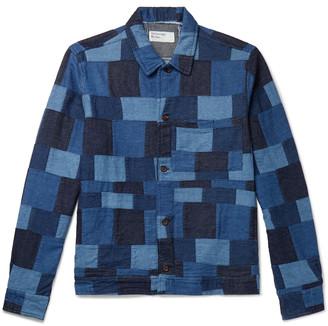 Universal Works Patchwork Denim Chore Jacket
