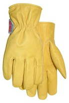 Midwest Quality Gloves Thermalock Lined Smooth Grain Leather Gloves - Light Tan