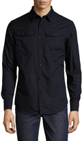 G Star 3301 Solid Buttoned Sportshirt