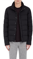James Perse Men's Yosemite Down Hooded Puffer Coat-BLACK