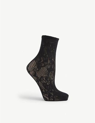 Wolford Morgan lace socks