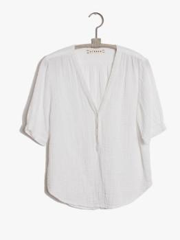 XiRENA The Lia Top In White - XS