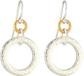 Gurhan Hoopla Small Tapered Hoop Drop Earrings