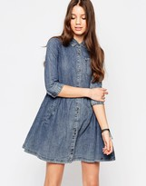 Bellfield Denim Shirt Dress
