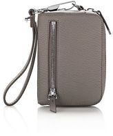 Alexander Wang Large Fumo Wallet In Matte Mink With Rhodium