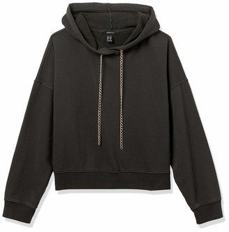 Forever 21 Women's Plus Size Curb Chain Hoodie