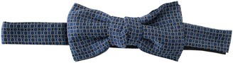 Lanvin Circle Patterned Clip-On Bow Tie