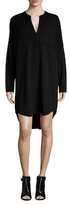James Perse Stretch Crepe Tunic Dress
