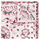 Alexander McQueen Swallow Dream scarf - women - Silk/Modal - One Size