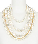 Anna & Ava Shayla Faux-Pearl Multi-Strand Statement Necklace