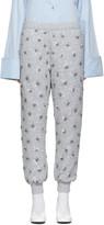 Ashish SSENSE Exclusive Grey Sequin Lounge Pants
