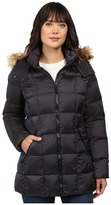 "Andrew Marc Maddy 30"" Metallic Down Jacket"