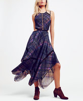 Free People Glasgow Printed Cutout Dress