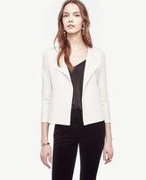 Ann Taylor Asymmetrical Sweater Jacket