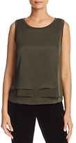 Kenneth Cole Sleeveless Layered Top