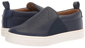 Freshly Picked Slip-On Sneaker (Toddler/Little Kid) (Black) Kid's Shoes