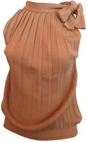 Max Mara Pink Wool Top