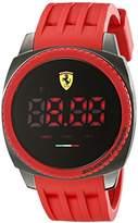 Ferrari Men's 830228 Aerodinamico Digital Display Red Watch