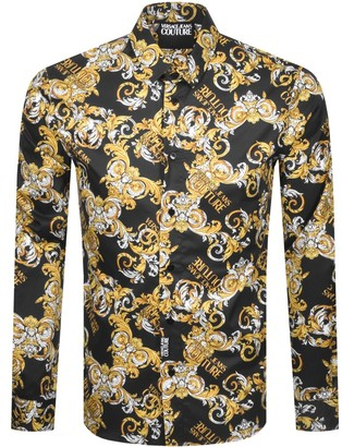 Versace Long Sleeve Shirt Black